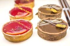 Mini empanada agria de la baya fresca orgánica imagen de archivo libre de regalías