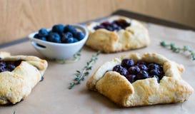 Mini empanadas de arándano Fotografía de archivo