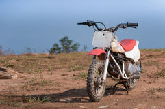 Mini enduro motorcycle Royalty Free Stock Image