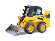 Mini escavatore - gru a benna, macchina di costruzione immagine stock libera da diritti