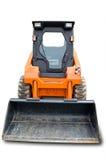 Mini excavador anaranjado de la rueda Imagen de archivo