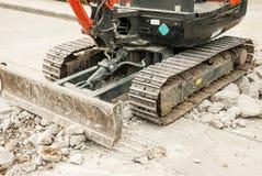 Mini Excavator lizenzfreies stockfoto