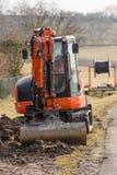 Mini excavator Royalty Free Stock Image