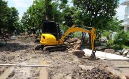 Mini Excavators Royalty Free Stock Image