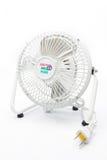 Mini fan isolated on white background Royalty Free Stock Image