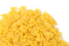 Mini farfalle pasta Stock Photography