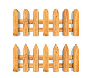 Mini fence front garden fencing decorative wooden classic style Royalty Free Stock Photo
