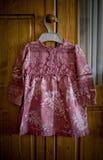 Vestido da criança Foto de Stock