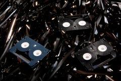Mini fitas de DV Imagem de Stock
