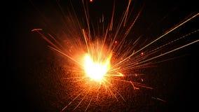 Mini fogo de artifício Fotografia de Stock Royalty Free