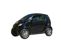 Mini fortwo esperto isolado do carro preto Fotografia de Stock Royalty Free