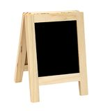 Mini free standing blackboard Royalty Free Stock Photo