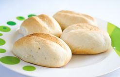 Mini French Baguettes Royalty Free Stock Photography