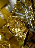 Mini French Horn Arkivbilder