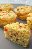 Mini Frittata Finger Food Royalty Free Stock Photo