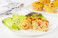 Mini Frittatas Royalty Free Stock Photography