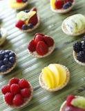 Mini fruit tart Royalty Free Stock Photography