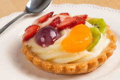 Mini fruit tart. Stock Photography