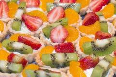 Mini Fruit Tarts Stock Afbeeldingen