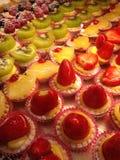 Mini Fruit Tarts Fotos de archivo
