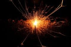Mini fuego artificial Fotografía de archivo libre de regalías