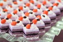 Mini gâteau Photographie stock