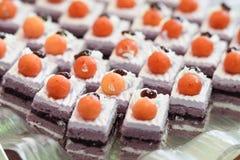 Mini gâteau Images stock