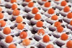 Mini gâteau Photographie stock libre de droits