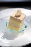 Mini gâteau d'arachide sur le plan rapproché de paraboloïde Images stock