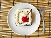 mini gâteau de forêt noire Photos stock