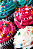 Mini gâteaux Photos stock