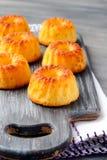 Mini gâteaux de bundt Images libres de droits