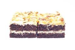 Mini gâteaux de caramel Photo libre de droits