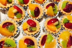 Mini galdéria da fruta Foto de Stock Royalty Free