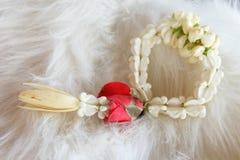 Mini garland. Valentine thai style. Royalty Free Stock Photos