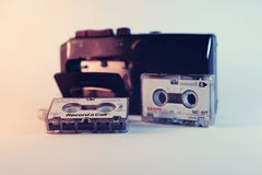 Mini gaveta velha Foto de Stock