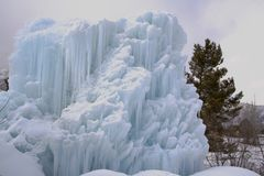 Mini geleira Foto de Stock Royalty Free