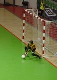 Mini-gioco del calcio russo della lega A Fotografie Stock