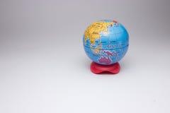 Mini globe de la terre Photo libre de droits