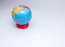Mini globe of planet earth Royalty Free Stock Photos