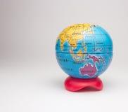 Mini globo da terra Fotografia de Stock