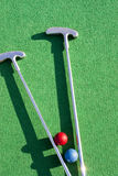 Mini golf Royalty Free Stock Photo