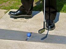 Mini Golf Images libres de droits