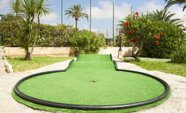 Mini golf Fotografia Stock
