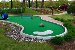 Mini Golf Imagem de Stock Royalty Free