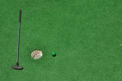 Mini Golf Background 2 Royalty Free Stock Photo