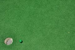 Mini golf background Stock Images