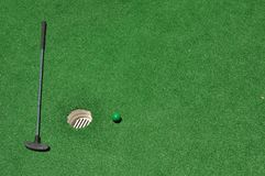 Mini Golf Background 2 Royalty Free Stock Photo