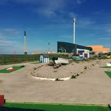 Mini Golf By The Beach royalty free stock images