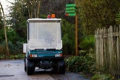 Mini golf car Royalty Free Stock Photo